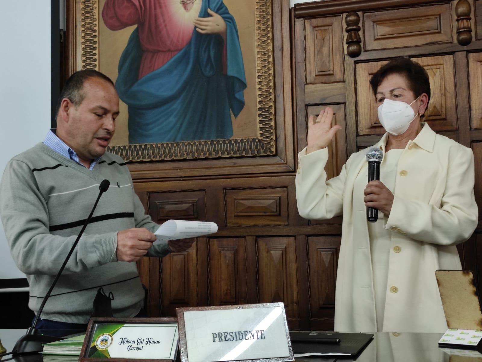 Posesión Concejal Rosalba Aranzazu
